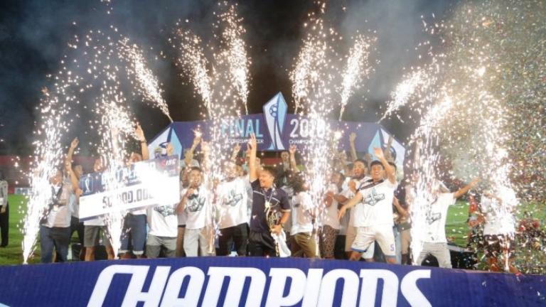 (PIC:Kalahkan PSS Sleman di Final, PSCS Cilacap Juara ISC B 2016)