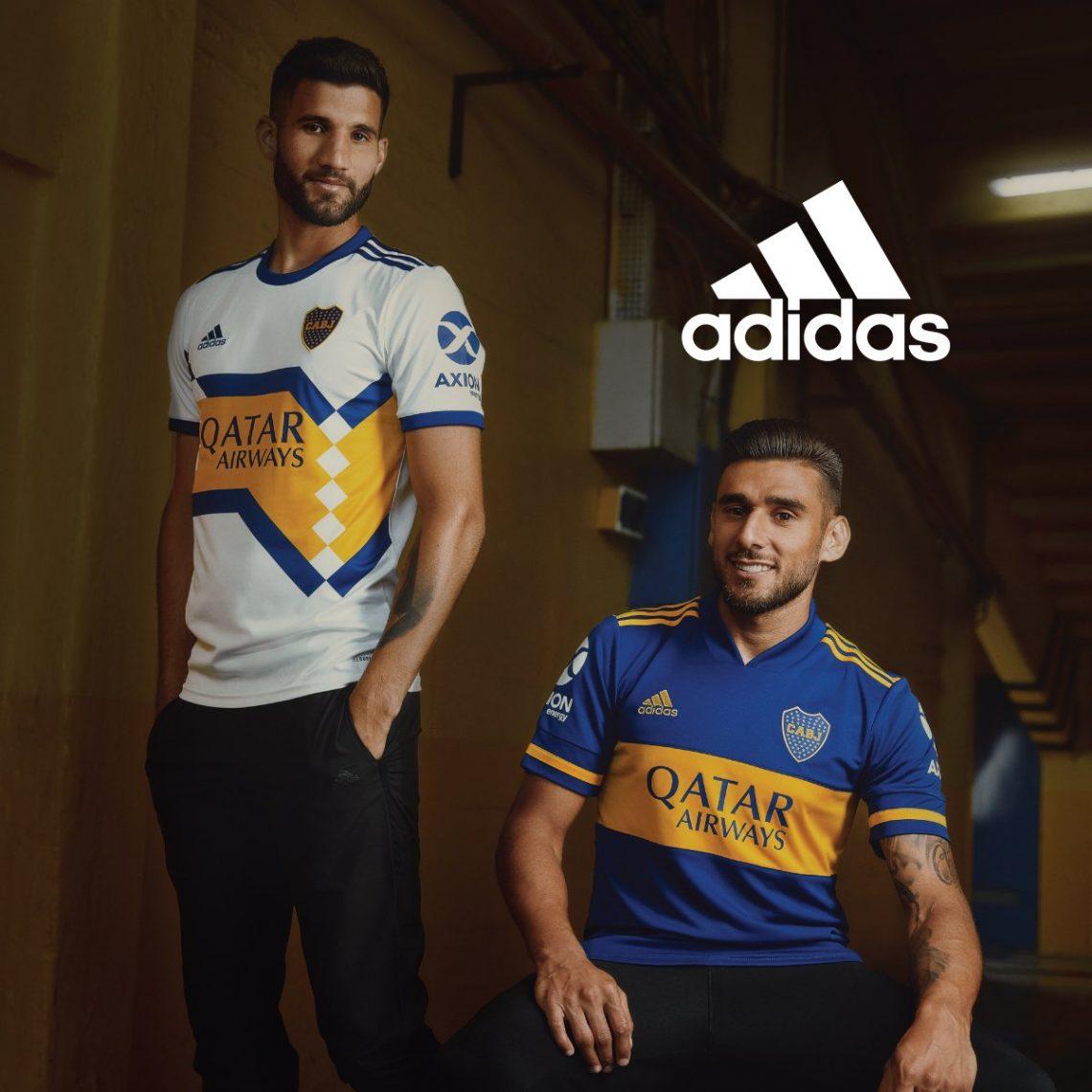 Jersey baru Adidas untuk Boca Juniors