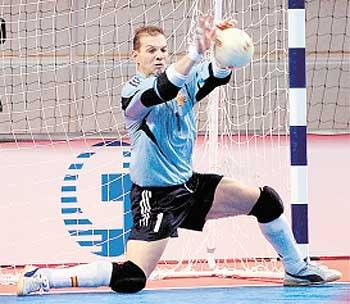 Ahmad Muntasyir Kiper Futsal Handal Tips