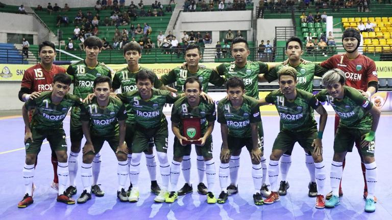 Skuat Vamos Mataram di Pekan Pertama Pro Futsal League ...