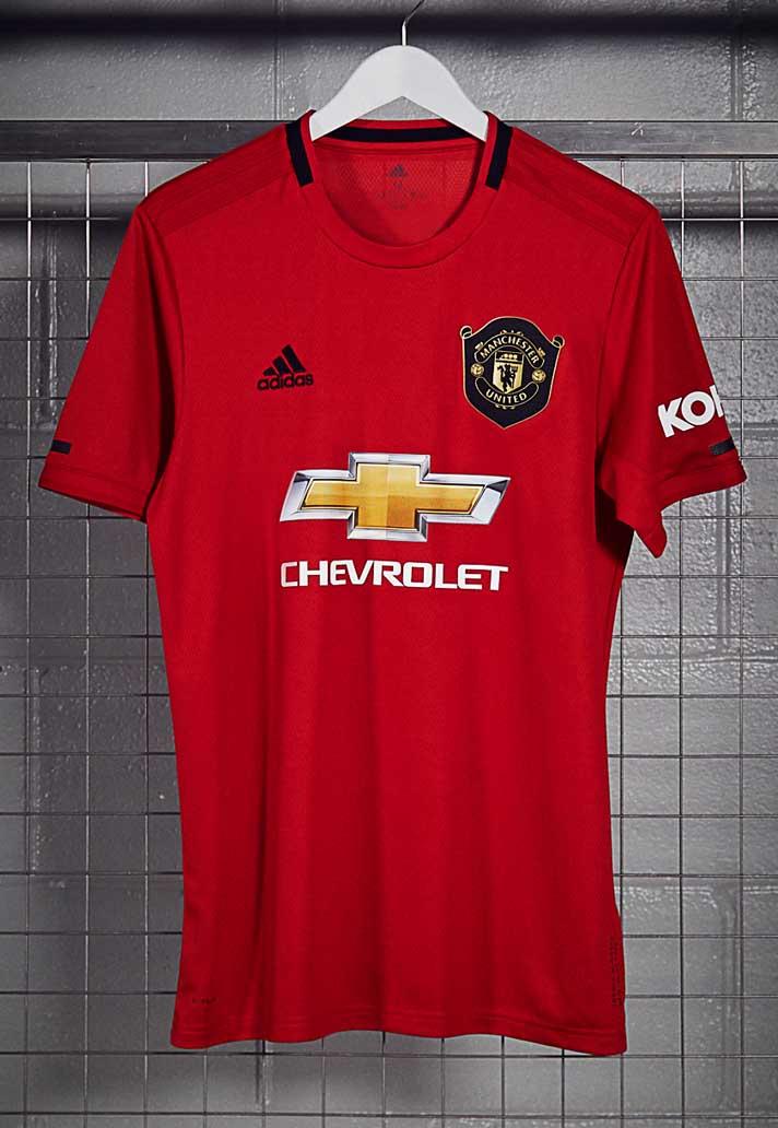 official photos 40d42 98f72 Tampilan Baru Jersey Manchester United, Inspirasi Treble 98 ...