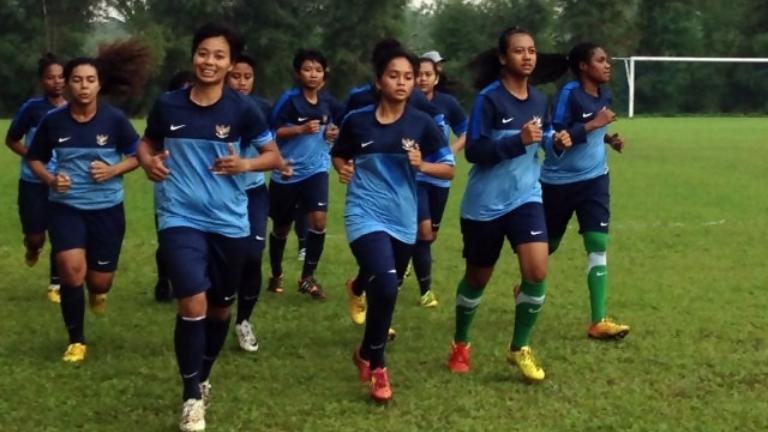 (PIC:Timnas Wanita Indonesia Siap Tampil Di Piala AFF Wanita 2017)