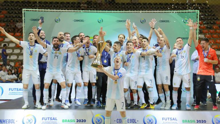 Kalahkan Brazil, Argentina Finish Pertama Kualifikasi Piala Dunia Futsal  2020 Zona Conmebol - Bolalob.com