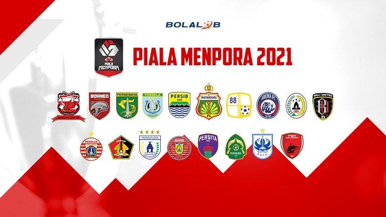 Klasemen Sementara Piala Menpora 2021 Setelah Pekan Pertama - Bolalob.com