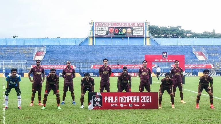 Skuat PSM Makassar di Piala Menpora 2021