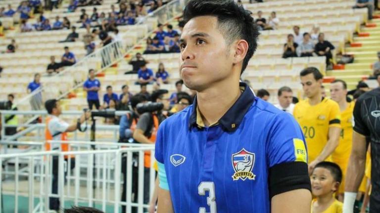 """(PIC:Kesal , Pemain Thailand Ledek Suporter Indonesia """"Om Telolet Om """")"""